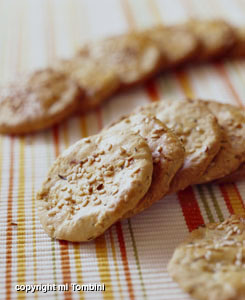 Biscuits au sésame (Grèce)