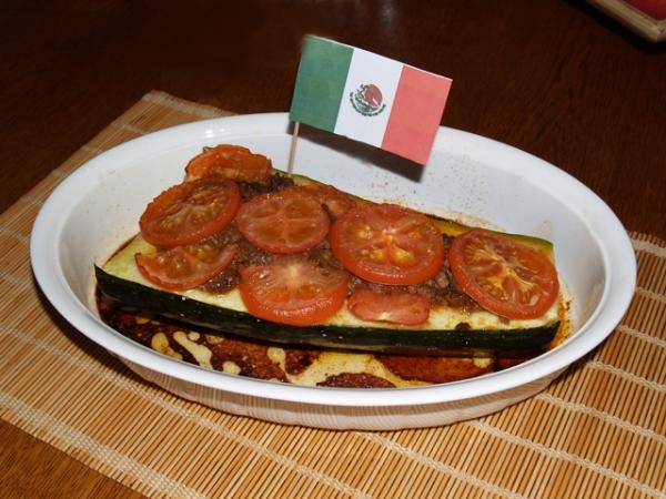 Courgette à la mexicaine