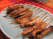 Brochettes de porc thaïlandaises