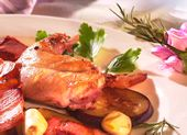 Lapin provençal aux aubergines