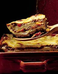 Lasagne à la napolitaine : superbe lasagne :