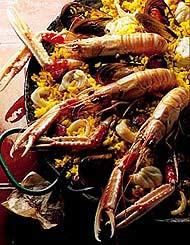 Paëlla aux fruits de mer