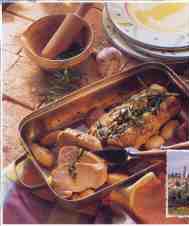 Le rôti de porc au romarin