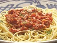 Sauce bolognaise :