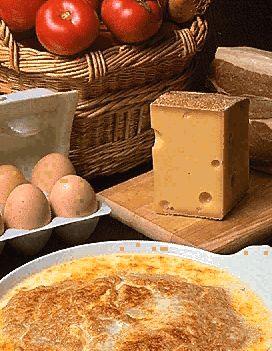 Omelette gratinée
